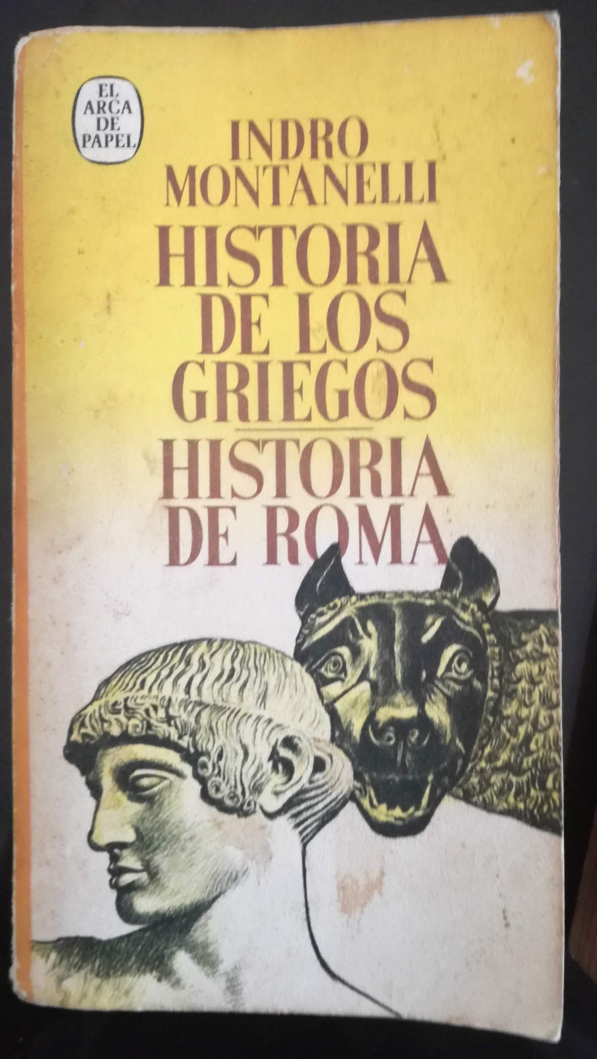 Portada Historia de los griegos e Historia de Roma