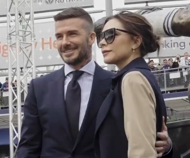 David Beckham y Victoria Beckham