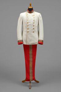 Uniforme de vestir, usado por el emperador Francisco José